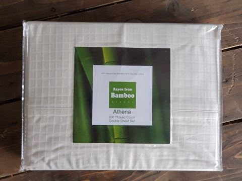 Athena Bamboo 300TC Sheets - Various Colours
