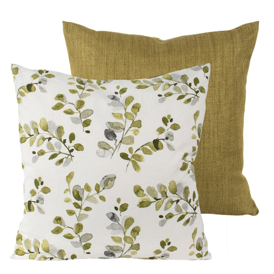Green Leaf- Toss Pillow