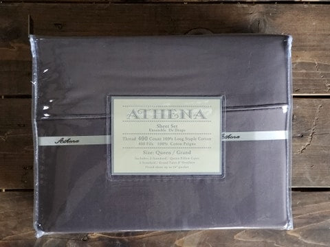 Athena 400TC Sheets - Various Colours