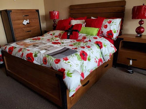 Portland Queen 4 Drawer Storage Platform Bed