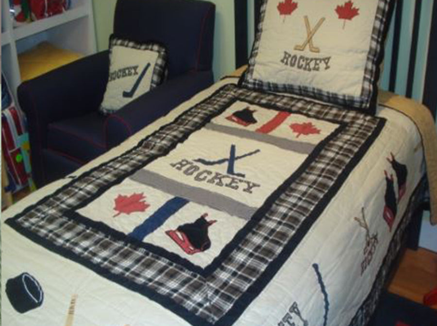 Hockey Quilt Set