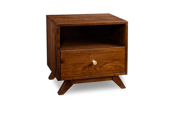Tribeca 1 Drawer with Opening Nightstand