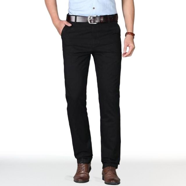 Chino Noir Homme