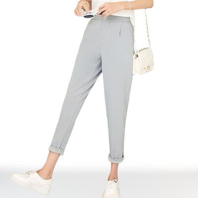 Chino Femme gris