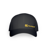 Black Cap - Small Yellow Logo