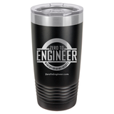 Black Tumbler - ZTE Engraved