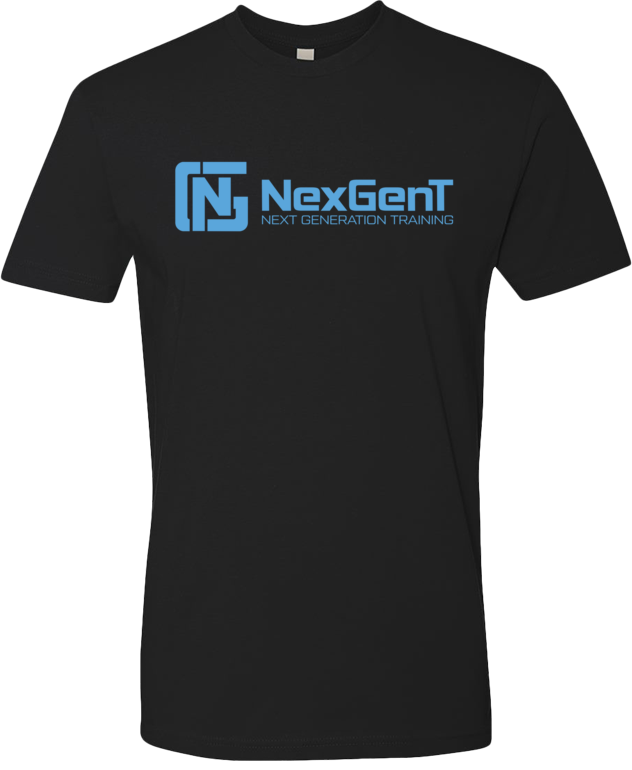 Black Shirt - Blue NGT