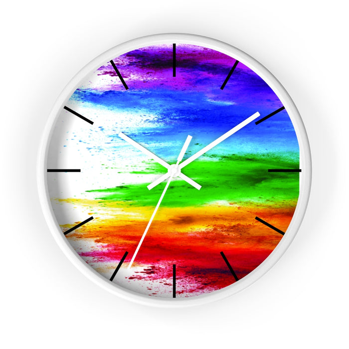 colorful clock
