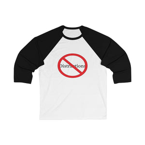 No distractions baseball tee