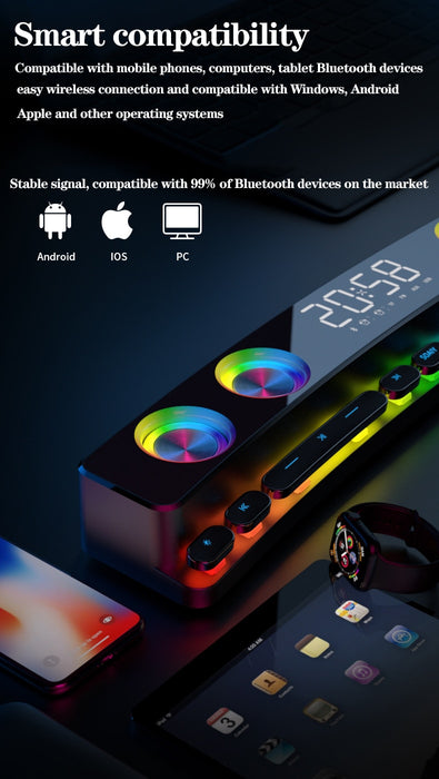 3D Stereo Wireless High-Quality Speaker