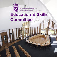 The Scottish Parliament - Education & Skills Committee logo