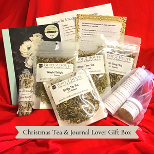 Christmas Gift Box with Journal
