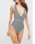 Spaghetti StrapStriped One Piece