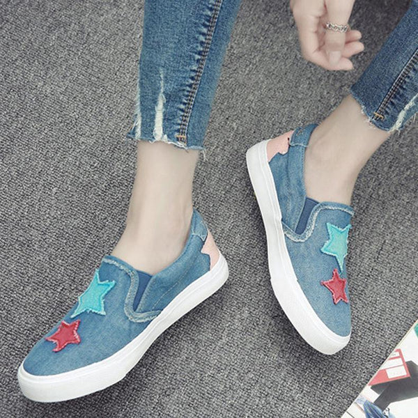Casual Denim Comfortable Shoes