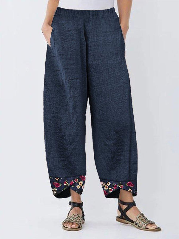 Cotton Casual Shift Pants