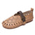 Women's Shoes Round Toe Camel Casual Flat Heel Shoes