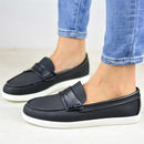 Women's  Comfort Sole Loafers Flat Heel Slip On Loafers