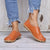 Women Casual Flat Heel PU Slip On Loafer