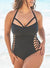 BOSS CUT OUT UNDERWIRE ONE PIECE SWIMSUIT