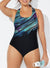 CHLORINE RESISTANT LYCRA XTRA LIFE COMET X-BACK ONE PIECE SWIMSUIT
