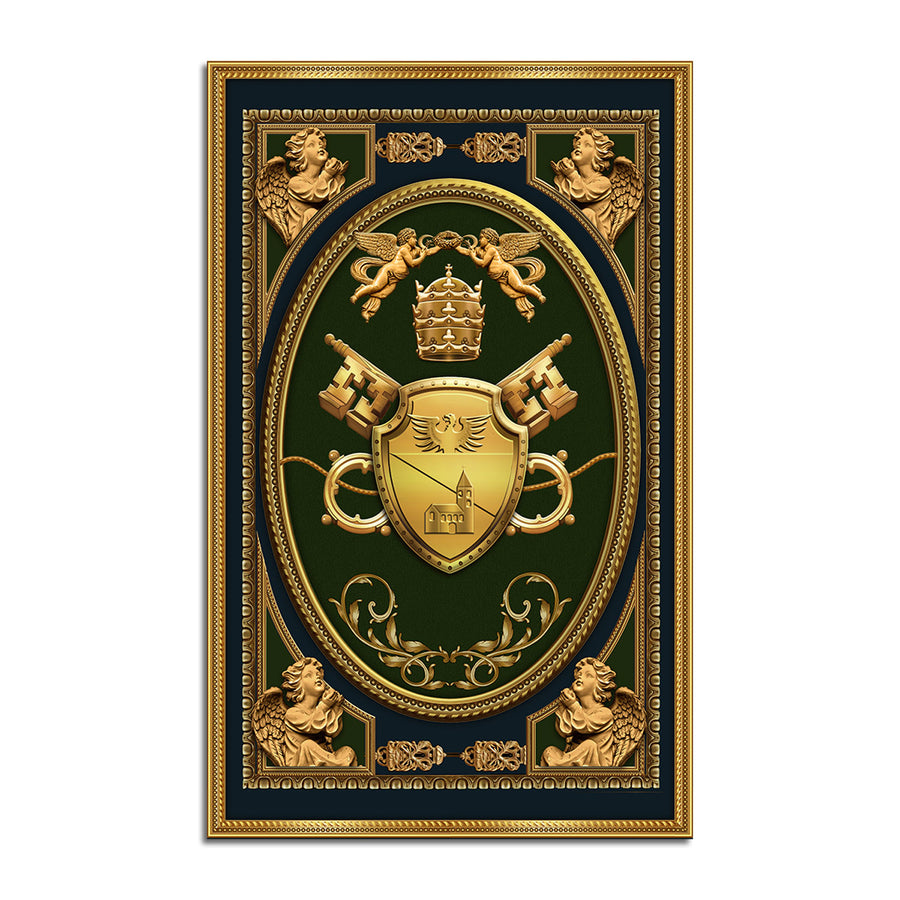 Benedict XV Coat Of Arms Rug