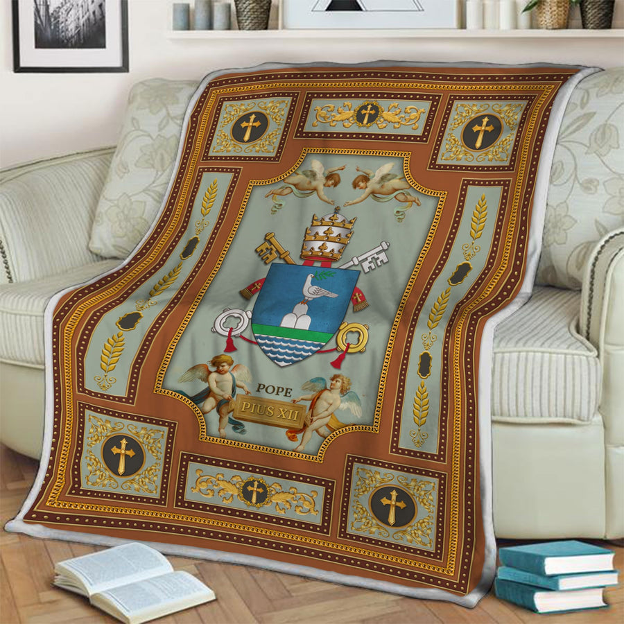 Pope Francis Coat Of Arms Blanket