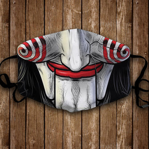 Billy the Puppet Face Mask