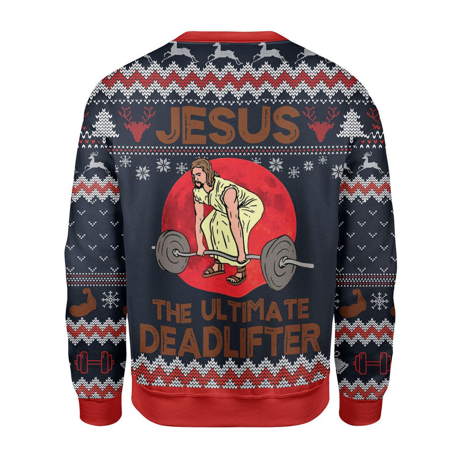 The Ultimate Deadlifter Christmas Sweater