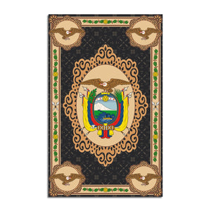 Ecuador Coat Of Arms Rug