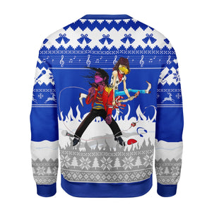 Beat It Ugly Christmas Sweater