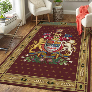 Canadian Coat of Arms Rug
