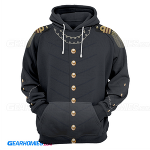 Andrew Jacksons Uniform Coat Hoodie / S President002