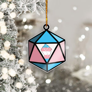 Transgender Mica Ornament