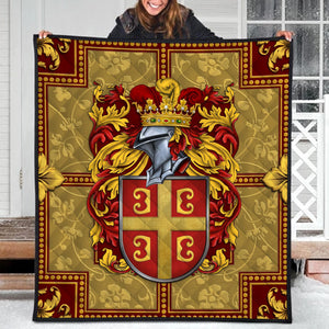 Byzantine Empire Coat Of Arms Quilt