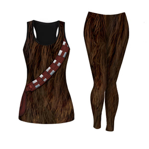 3D Tank And Leggings QM468