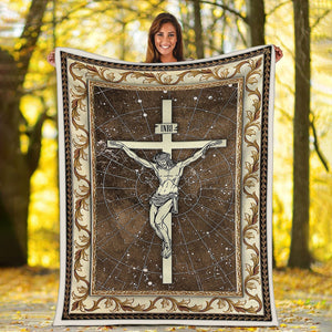Faith In God Begins Blanket