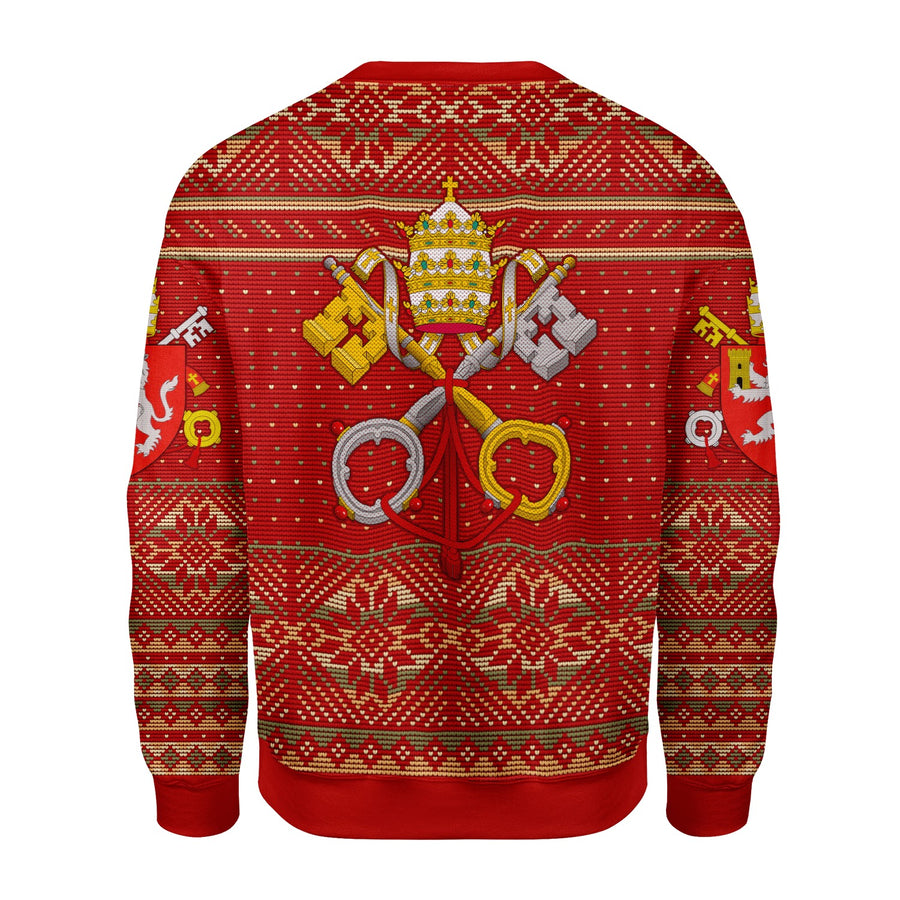 Pope Leo XII Coat of Arms Ugly Chritsmas Sweater