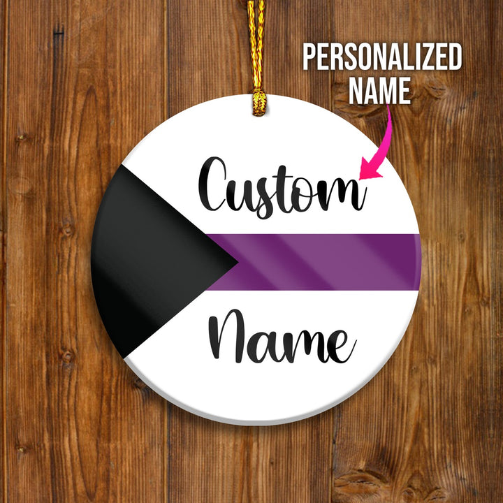 Demisexual Customized Ornament
