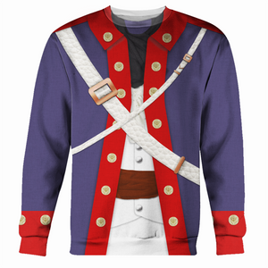 Gearhomies 1778 Continental Army Long Sleeves / S Army001