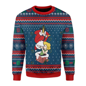 Spider Santa Claus Ugly Sweater