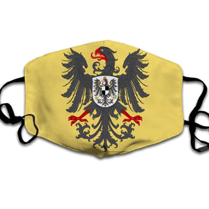 Lesser Coat Of Arms Of The German Emperor Face Mask