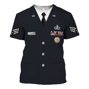 US Air Force Service Dress Uniform