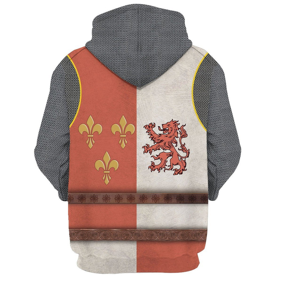 Gearhomies 3D Custom Shirt Hoodies Heraldic Knight Apparel Co122020