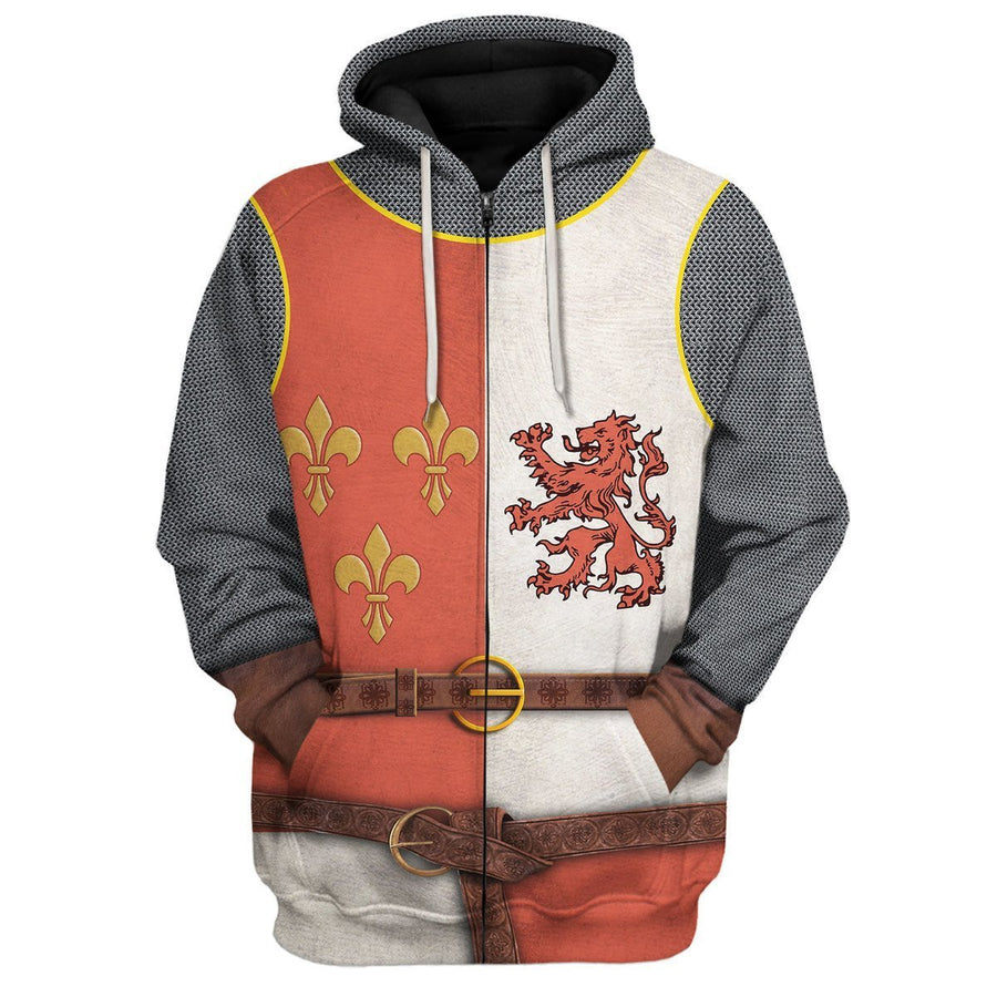 Gearhomies 3D Custom Shirt Hoodies Heraldic Knight Apparel Hoodie / S Co122020