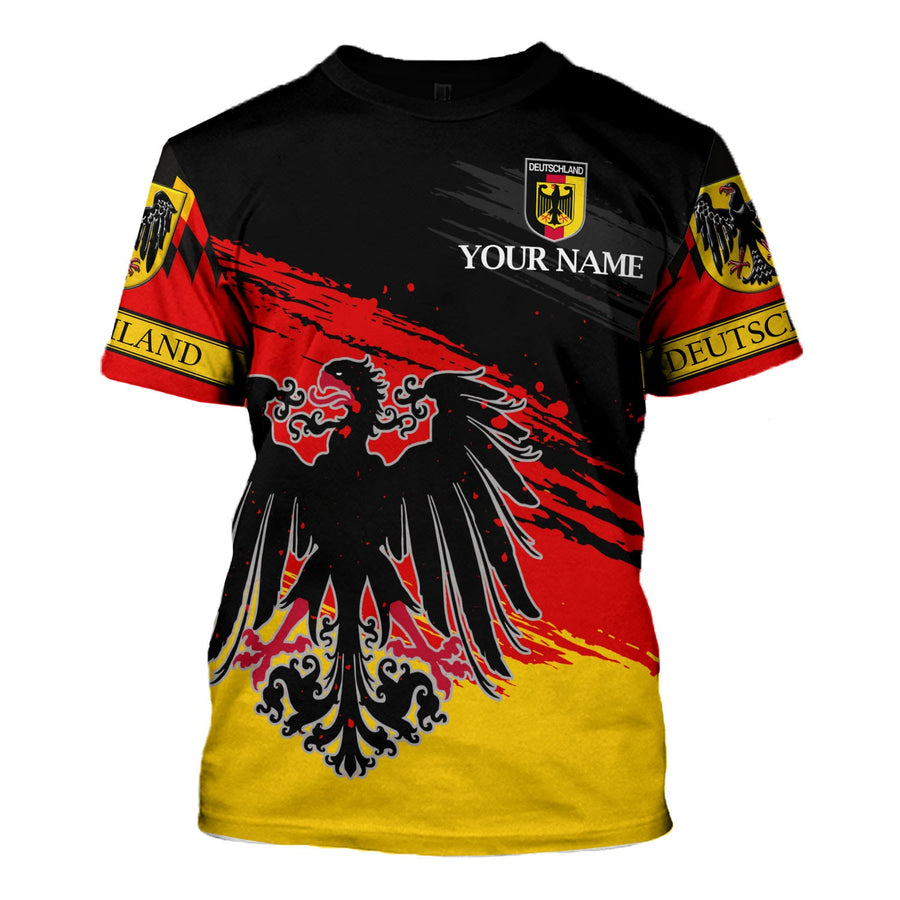 German Coat of Arms Custom Name T Shitt