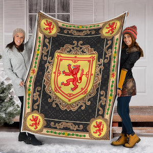 Scotland Coat Of Arms Blanket