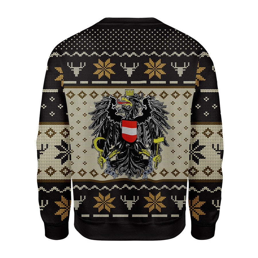 Austria Coat of Arms Ugly Sweater