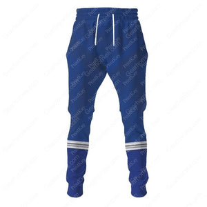 Blue Power Rangers Dino Sweatpants / S Pr002