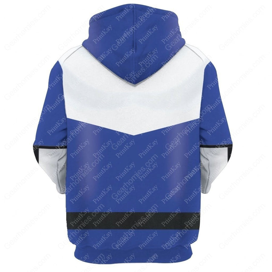 Blue Power Rangers Time Force Qm186