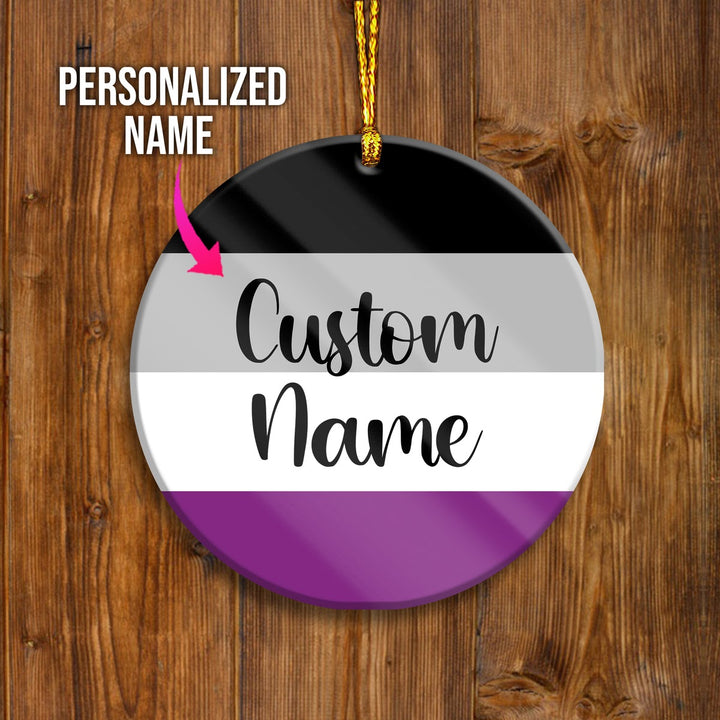Asexual Customized Ornament